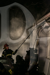 St. Paul firefighters along with an engine each from Ridge-Culver and Point Pleasant responded for the report of a house fire on Dewey Ave. The first arriving Chief reported heavy smoke from the house and declared a working fire. Crews made an aggressive interior attack and were able to knock the fire down in about 30 minutes. However, due to the construction of the house crews inside on the second floor were forced to deal with pockets of fire behind the knee walls. Sea Breeze FD also responded to the scene after initially being dispatched as a fill in company. According to St. Paul FD Assistant Chief Nicholas Masterton, all four occupants of the home were able to escape and there were no injuries. The cause of the fire is under investigation by the Monroe County Fire Bureau.