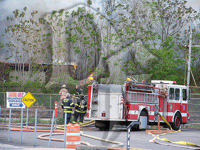 2010 May 5 - 3 Alarm, Sherer St, Rochester (3227)