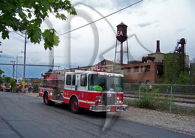 2010 May 5 - 3 Alarm, Sherer St, Rochester (3271)