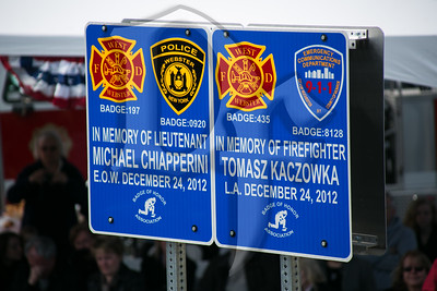 WWFD Sign Dedication