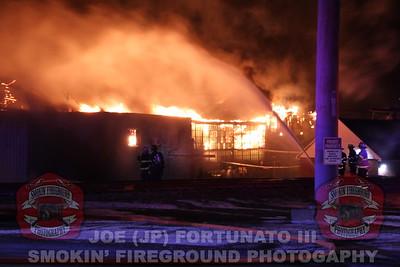 Marcal Multiple Alarm Fire, Elm Wood Park, Nj 01-30-2019