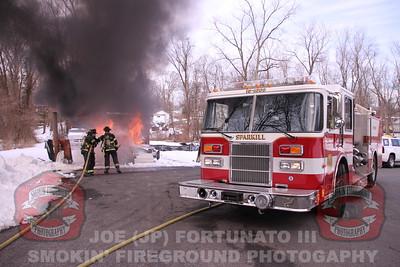Sparkill, NY Car Fire Training Evolution 03/03/2019