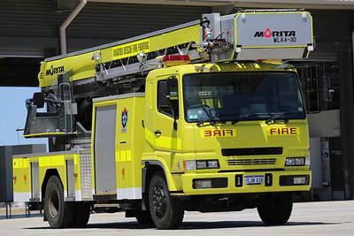 Air Services Australia Morita Ladder Truck