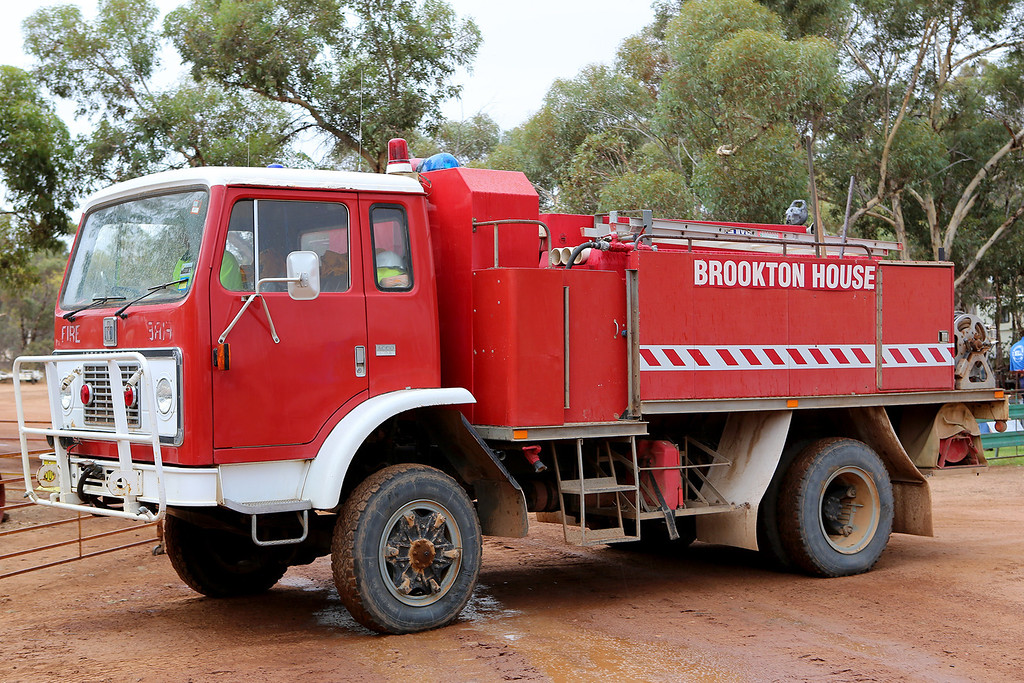 Brookton House Farm Fire truck