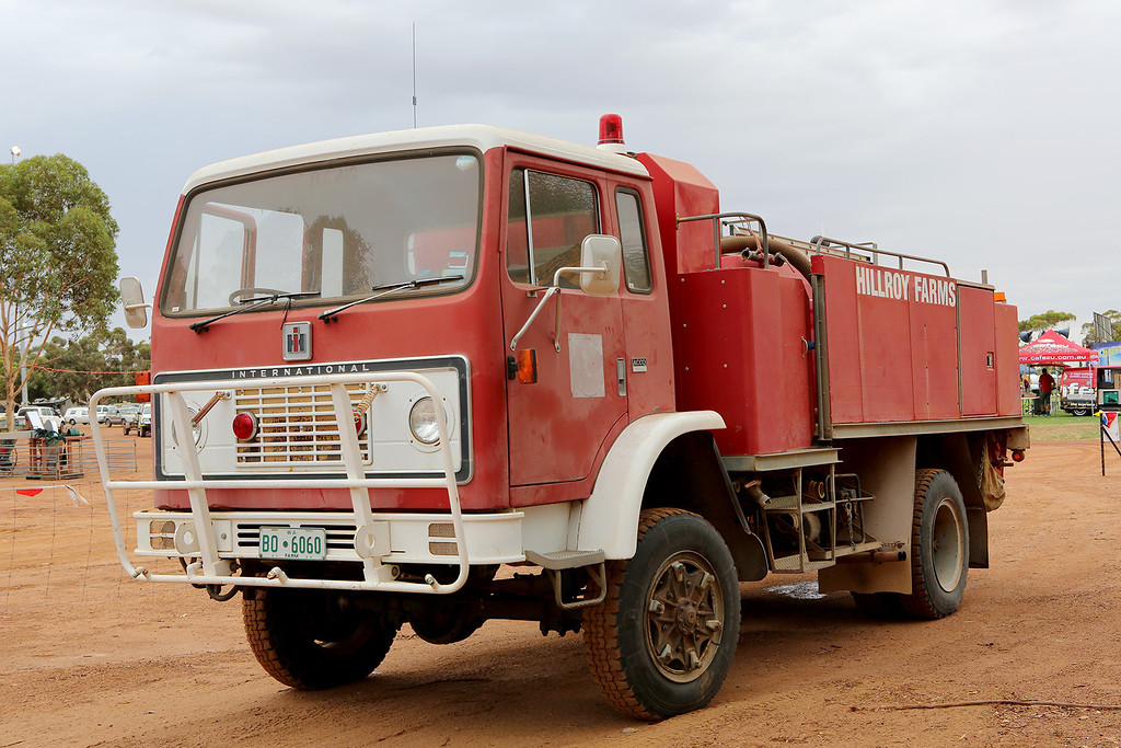 Hillroy Farms Fire Truck