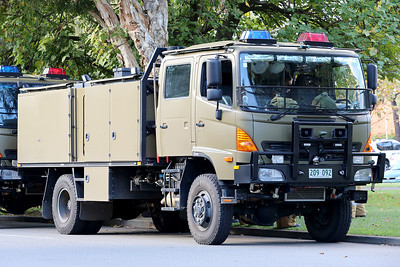 Australian Army Fire Fighting Tanker
