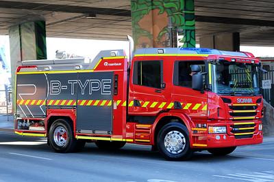 Rosenbauer Australian B Type Scania