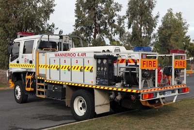 Wanneroo Volunteer Bush Fire Brigade 50th Year celebrations