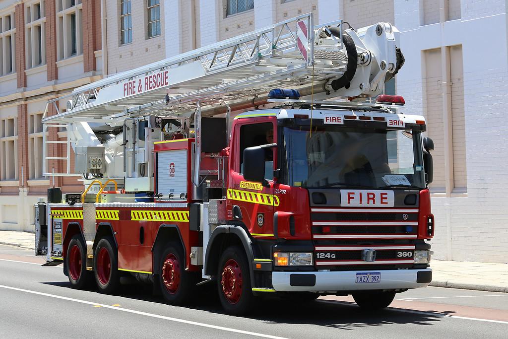 Dept Fire & Emergency Services (DFES) CLP2, Western Australia