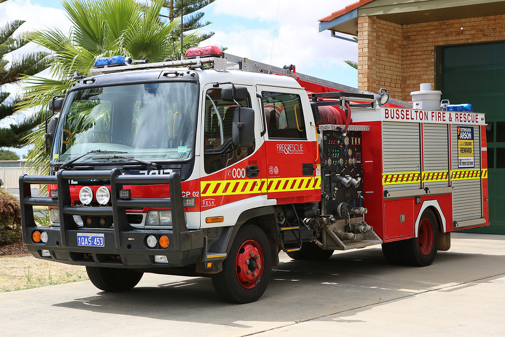 Busselton Volunteer Fire & Rescue County Pump