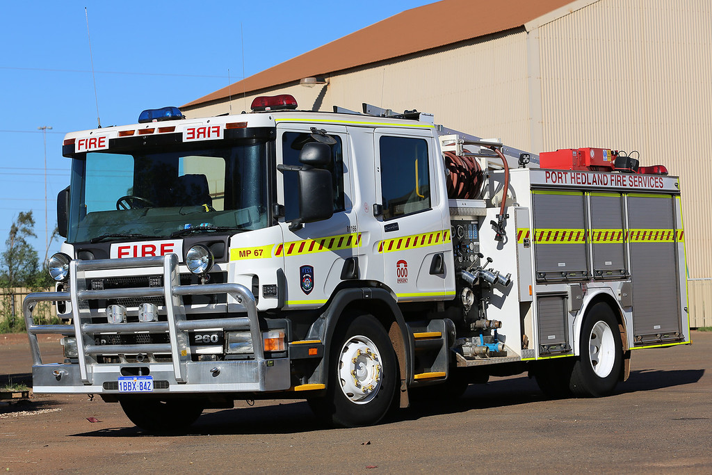 Port Hedland Fire Services, Western Australia