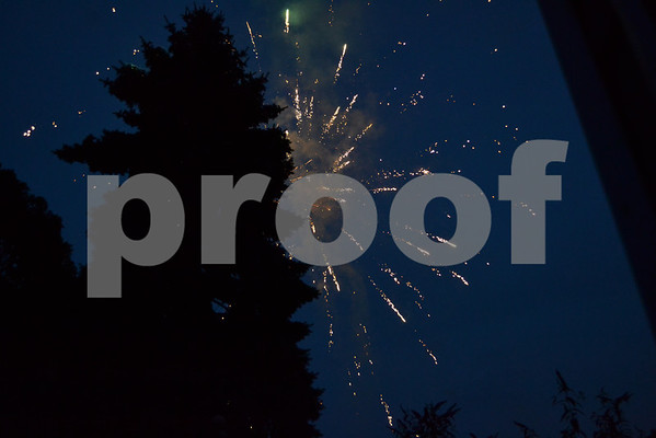 Neighborhood Fireworks 7-4-12