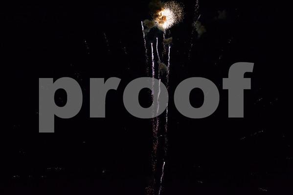 Walker Park Fireworks 7-3-12