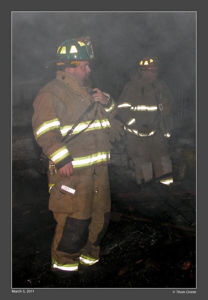 Department Safety Officer Chris Gardner