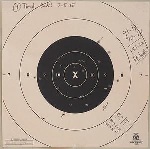 Bullseye Practice 7-8-15