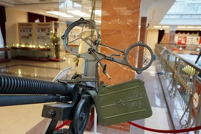 DShK with DShKM muzzle brake