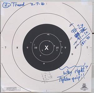 Pistol Range 2-7-16