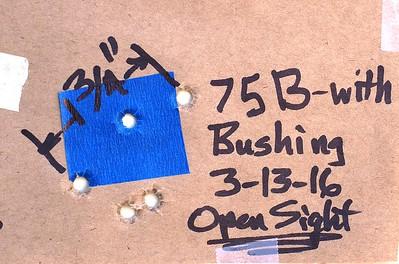 Pistol Range 3-13-16 CGW Bushing 9mm
