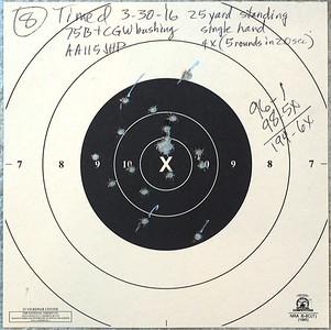 Pistol Range 3-30-16