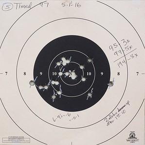 Pistol Range 5-1-16