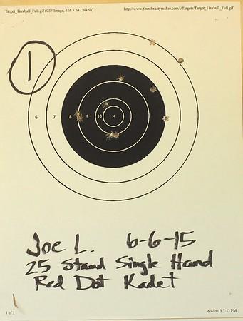 Pistol Range 6-6-15 Ruidoso