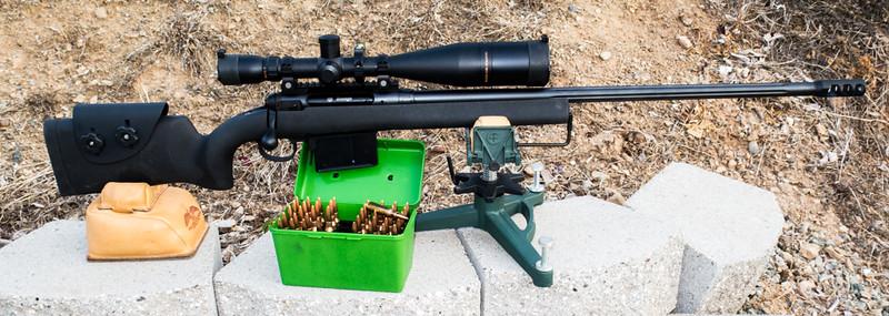 Savage 338 Lapua Rifle