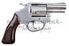 Gun Pistol Revolver Isolated On White Background