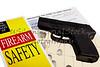 Pistol with Firearm Application and Fingerprint ID