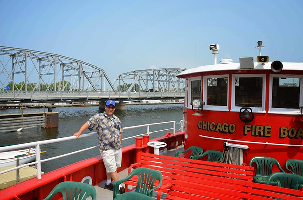 Fireboat Cruise of Sturgeon Bay