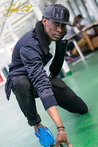 A quick shoot with the dancehall dancer Firediblackz on board SIlja Galaxy // One Love Cruise 2015