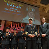 Massachusetts  Governor Charlie Baker awarded Fitchburg Chief of Department Kevin Roy a Medal of Valor for his actions on February 10th at 176 Walton St. The 27th Annual Massachusetts Firefighter of the Year Awards were held at Mechanics Hall in Worcester. SENTINEL&ENTERPRISE/ Jim Marabello