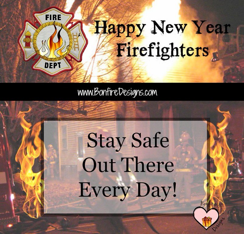 Firefighter New Year Wish