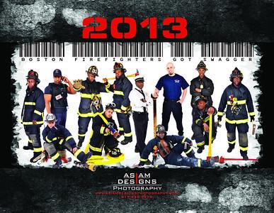 Firefighter's Calendar 2013