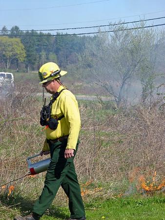 Budd Lake Firefighters Burn to Train