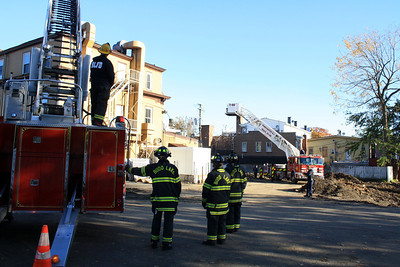 Hackettstown Fire Conducts Ladder Drill