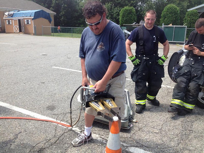 Budd Lake Fire Drills With Jaws of Life