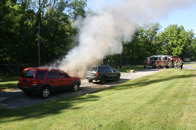 Budd Lake Car Fire Training
