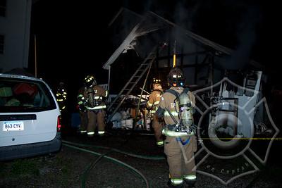 Taftville Garage Fire-2