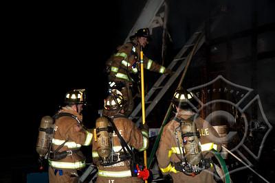 Taftville Garage Fire-4