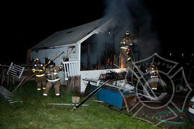 Taftville Garage Fire