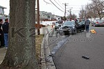 On the afternoon of St. Patrick's Day [March 17th] the Bellmore Fire Department was dispatched to a reported car versus tree in front of 2930 Shore Road [Randy Lane as the cross street].  The first units on scene were met with a one vehicle accident with one person injured.