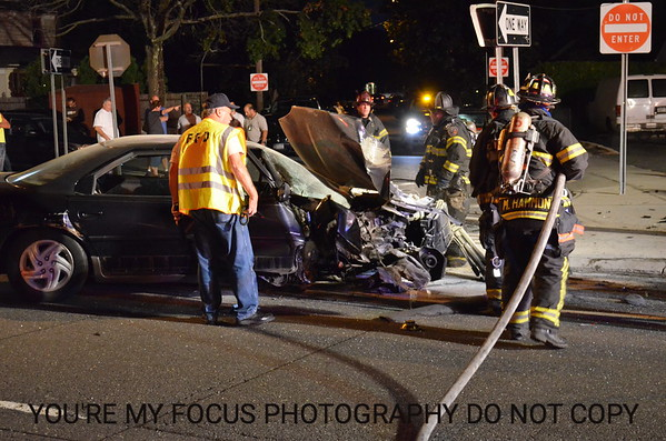VoF Car Vs. Pole Fulton St. & Bernard St. 8-30-12