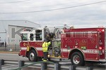 North Amityville Engine 1-7-10 on the scene of a building fire on Route 109 in East Farmingdale [1-26-20].