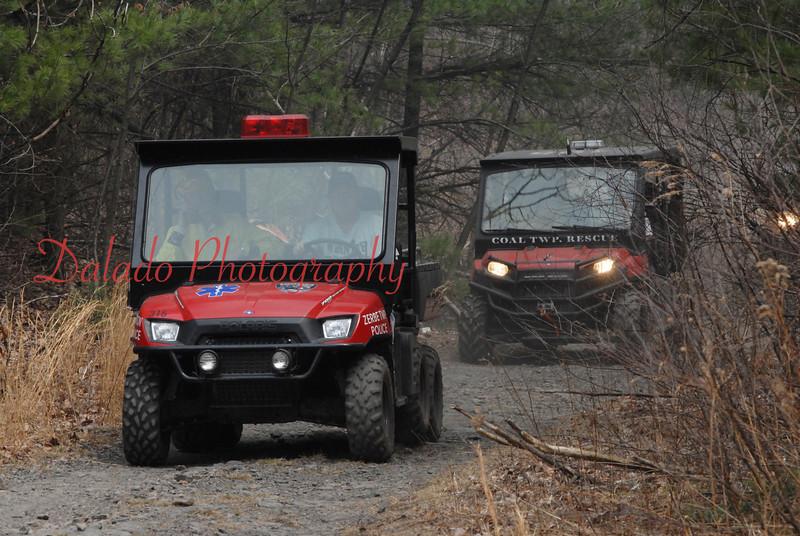 Trevorton/Coal Township off-road vehicles.