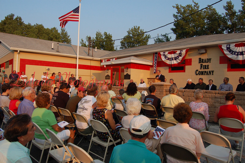 Dedication Ceremony of Brady Fire Company. (8.16.07)
