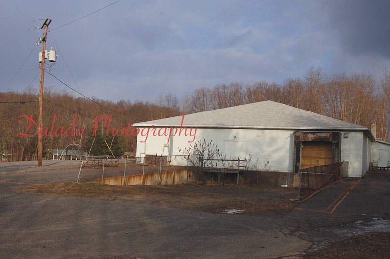 Rear of the former Limited Edition Shirt Factory, before it became home to the Brady Fire Company.