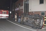 Wednesday, May 8th, 2019: Engine 216, Heavy Rescue 217-2 and Ambulance 219 operated on the scene of a motor vehicle accident with overturn at the intersection of North Main Street and Broadway.  There were at least two vehicles involved and no entrapment or serious injuries.  Fire department units were under the command of Freeport First Assistant Chief Braun [2101].