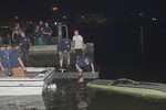 Monday, July 20th, 2020: the FFD was called to an overturned boat at the Albany Avenue boat ramp. First arriving fire units were met with an overturned dinghy with one person still in the water clinging to the vessel. Fortunately, another civilian boat was coming in as this was going on and towed the boat and victim into shore. The boat was up righted and its occupants went on to refuse medical attention.