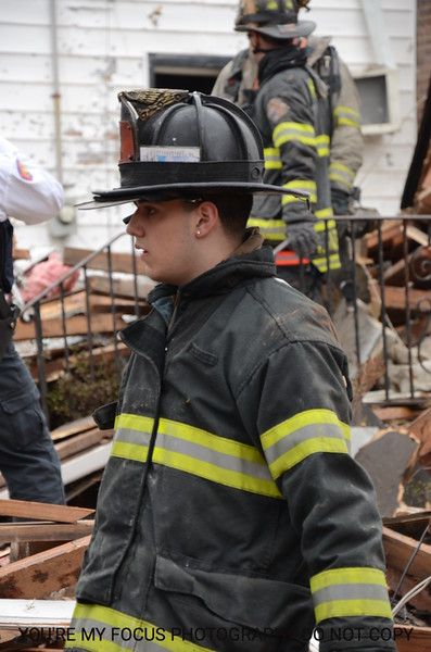 176 Perry St. House Explosion (2-27-13)