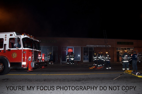 69 Cent Store Building Fire